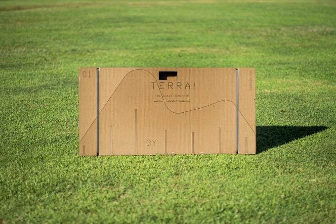 TERRA! flatpack laser cut cardboard