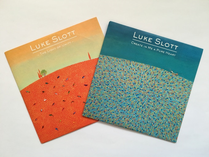 CDs with Artwork by Shirin Sahba, who will paint a new piece of art especially for the new album