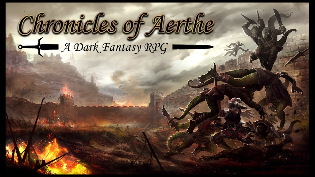 The Chronicles of Aerthe - Dark Fantasy RPG. project video thumbnail