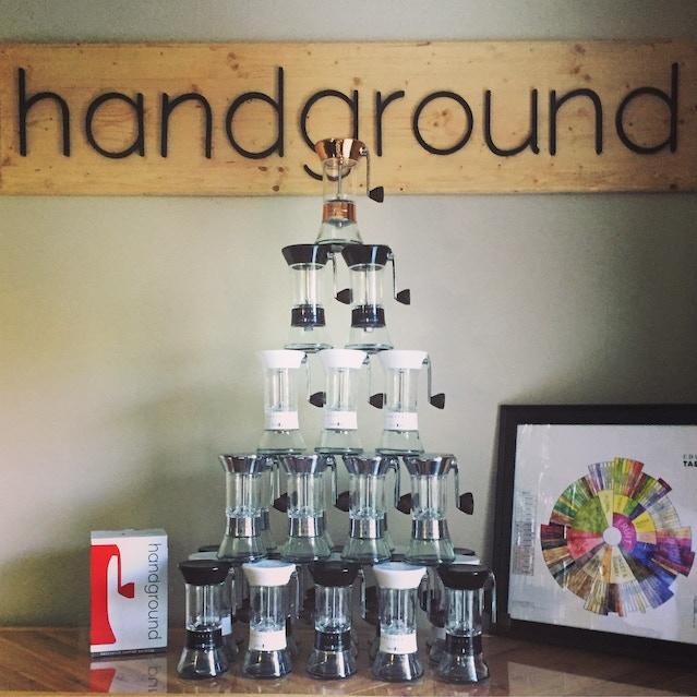 Handground manual coffee grinder