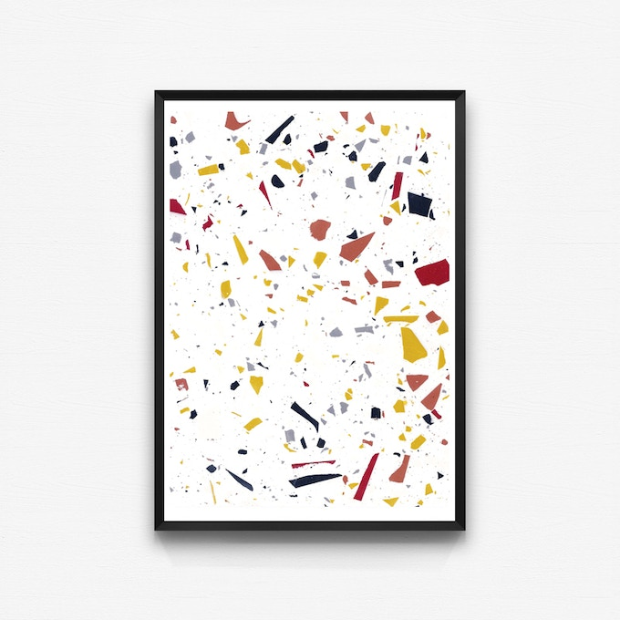 Giclee Print in Rebbe Colourway