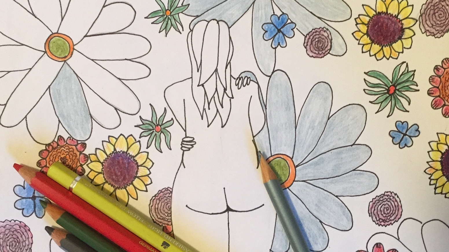 A Coloring Book created to fill the world with messages of love and acceptance for self, body, and each other.