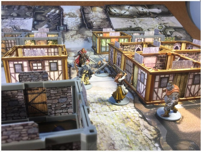 Frame Werx Affordable Modular Building Dungeon Kit Files