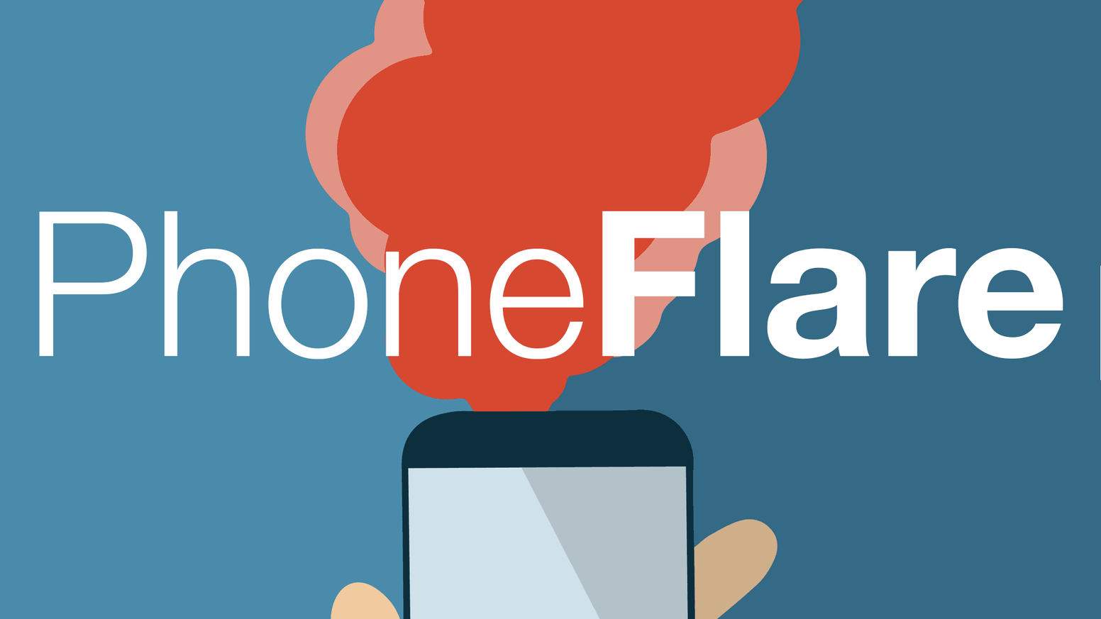 PhoneFlare shares your location with friends, family and school when in danger using sophisticated tech. 100% Free and Volunteer Run.