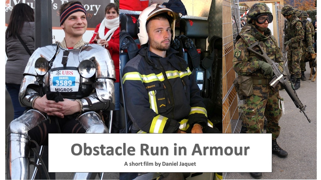 Obstacle Run in Armour - a Short Film by Daniel Jaquet project video thumbnail