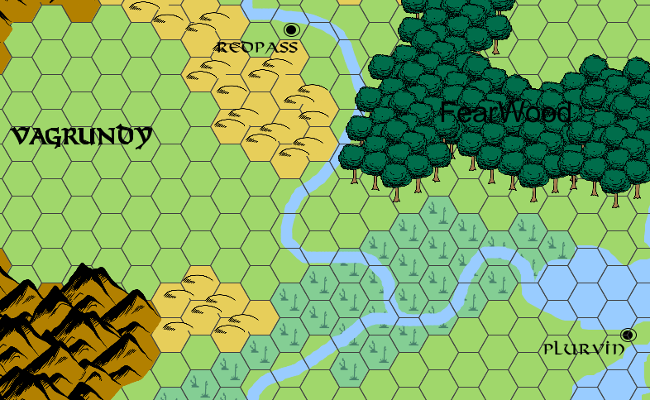 Another classic map style.