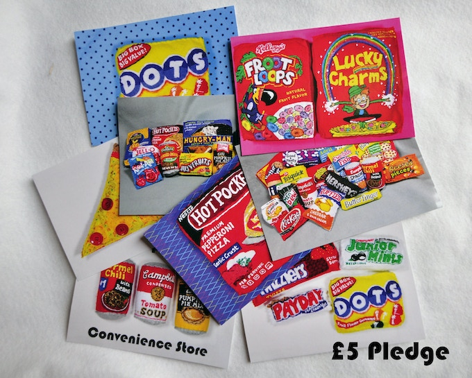 £5 Pledge Selection Pack of Postcards