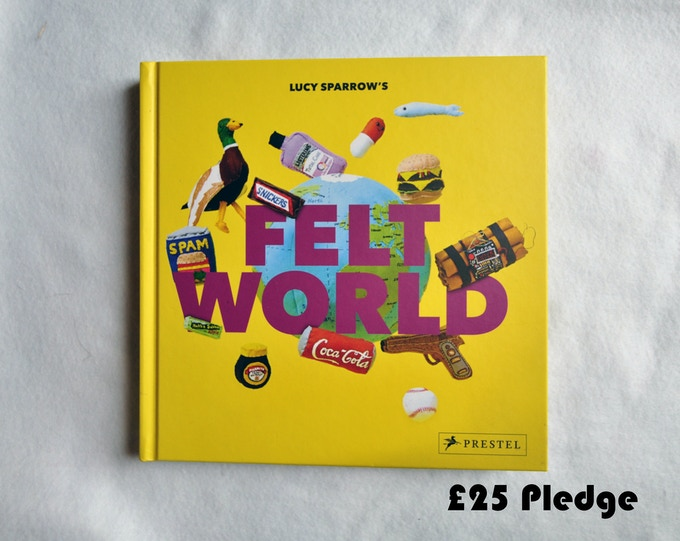 £25 Pledge Signed Felt World Book