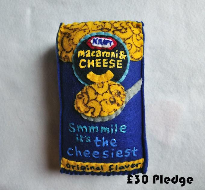 £30 Pledge Mac N' Cheese