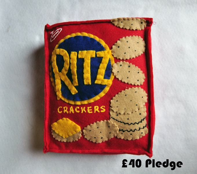 £40 Pledge Ritz Crackers