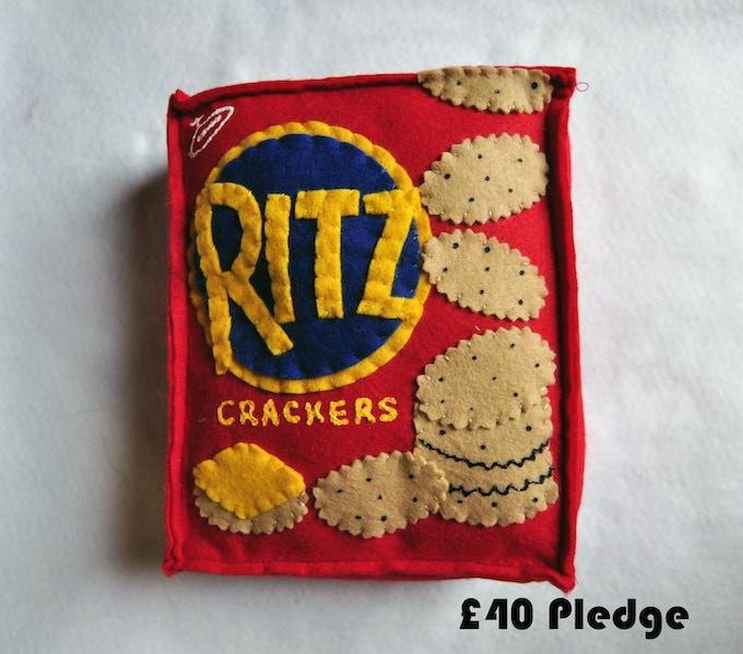£40 Pledge Ritz Crackers