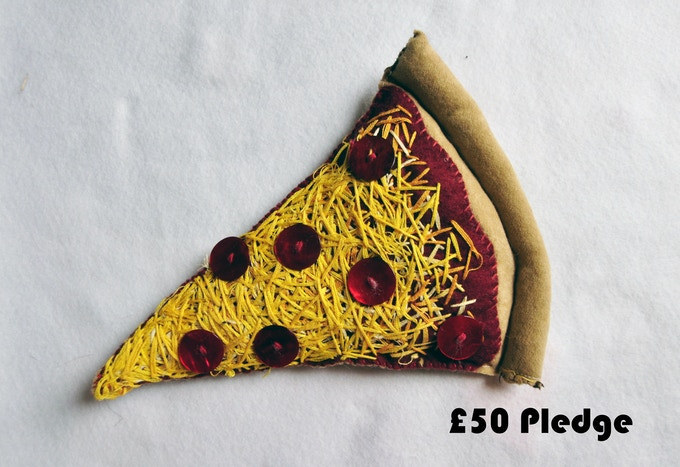£50 Pledge Slice of New York Pizza