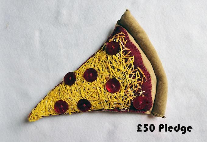 £50 Pledge Slice of New York Pizza