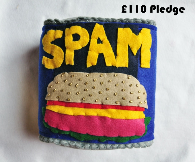 £110 Pledge Giant Tin of Spam