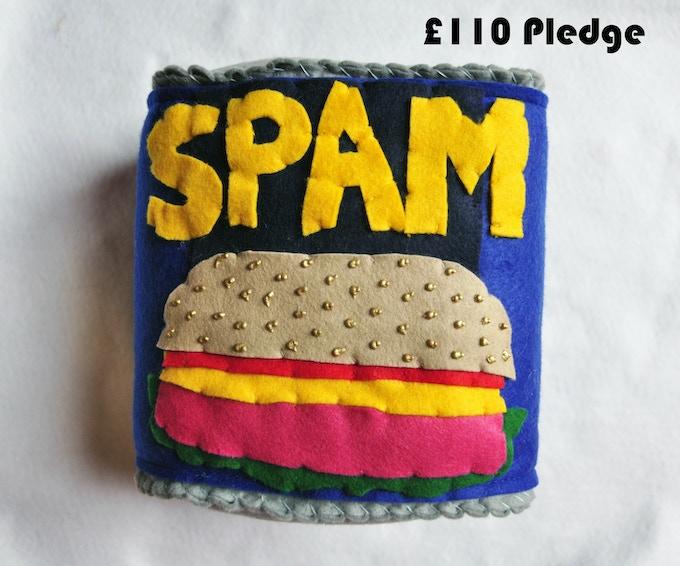 £110 Pledge Giant Tin of Spam