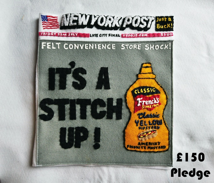 £150 Pledge New York Post