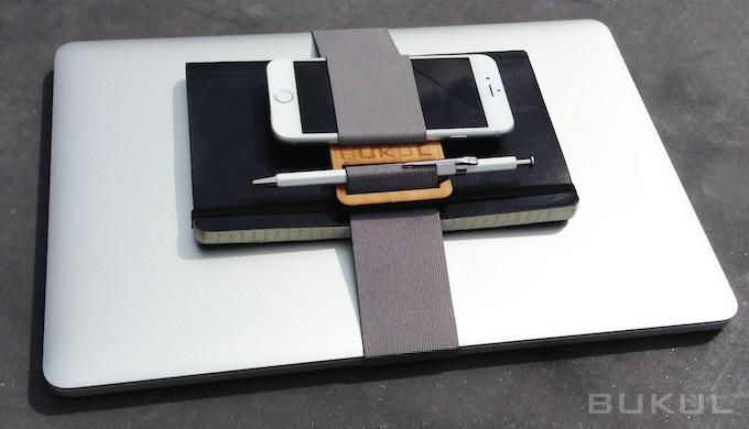 BUKUL + Large Band: laptop, notebook, phone, pen bundled