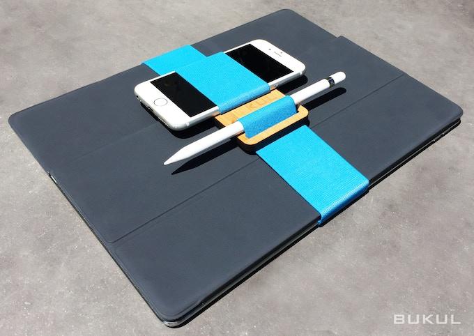 BUKUL + Large Band: large tablet, phone, stylus bundled