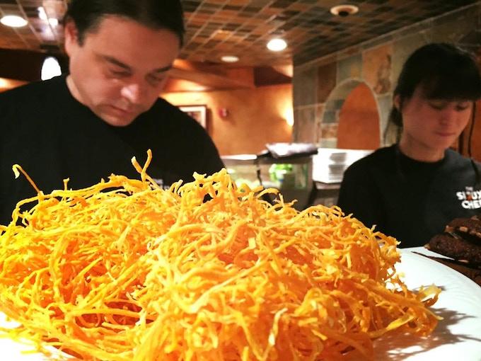 Chef's Sean and Tashia Plating
