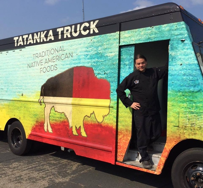 Chef Sean and the Tatanka Truck, MN's only all Indigenous food truck!