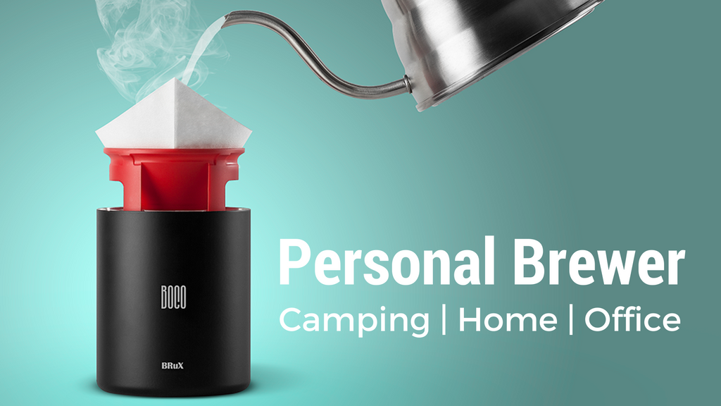 BRuX - A Portable Coffee Brewing Bottle project video thumbnail