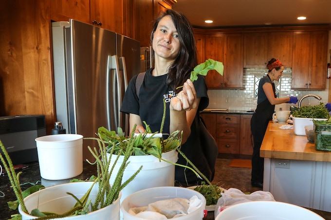 Sioux Chef team Member Tashia Hart, Culinary Ethnobotonist