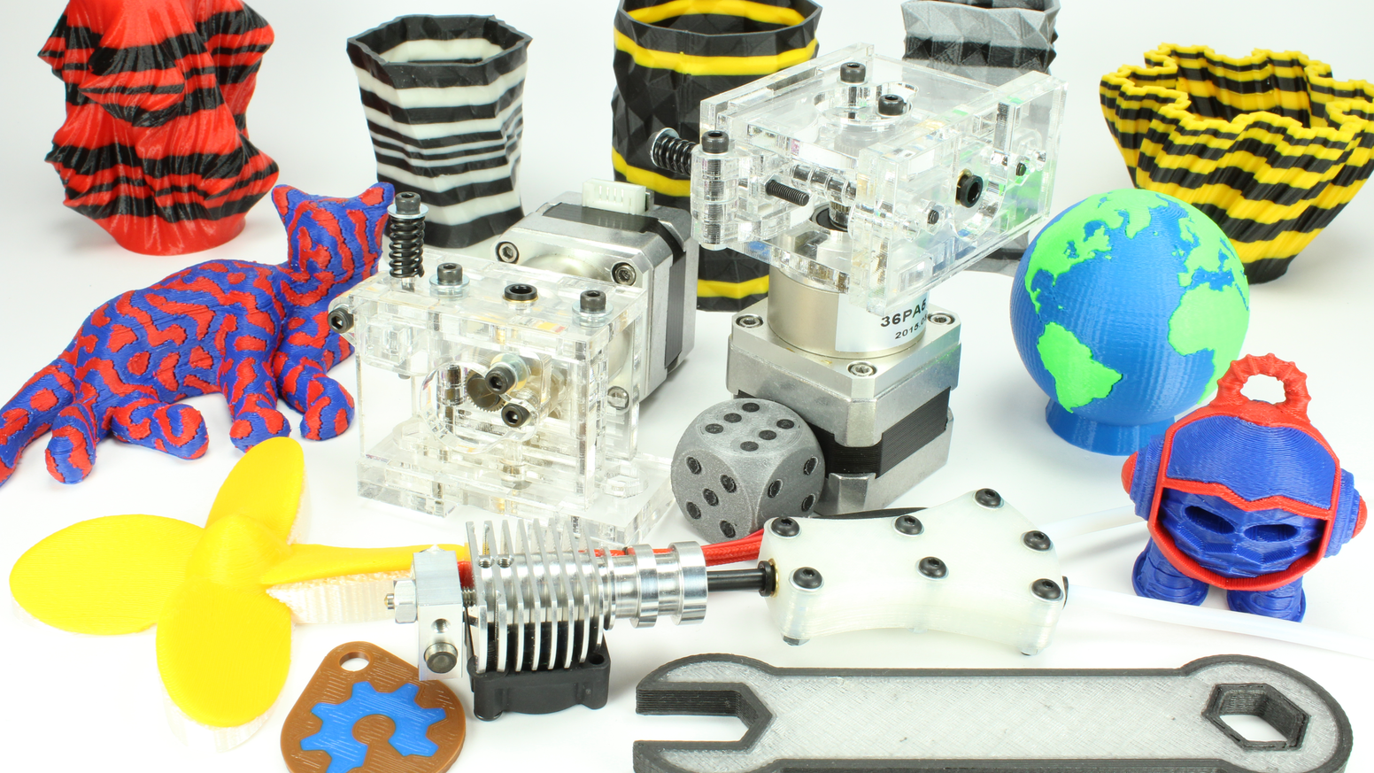 Upgrade your 3D printer to produce vibrant multi-color objects, print with support material, and create unique multi-material prints!
