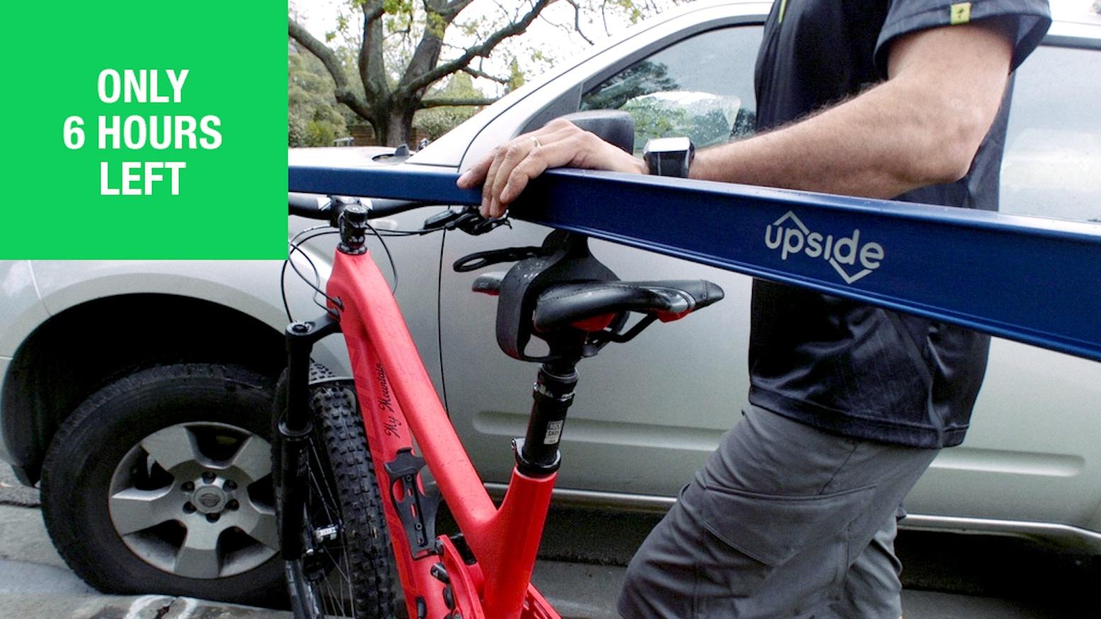 Upside Racks Want To Ride More Bikes Often By Bmw Fat Bike Kickstarter
