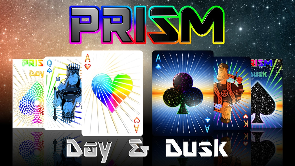 Prism: Day & Dusk Playing Cards project video thumbnail