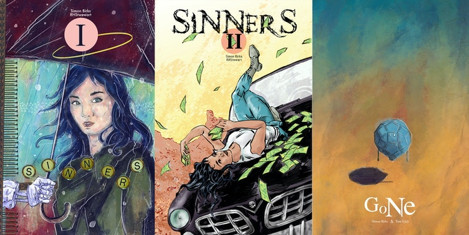 Sinners #1 & #2 plus Gone #1
