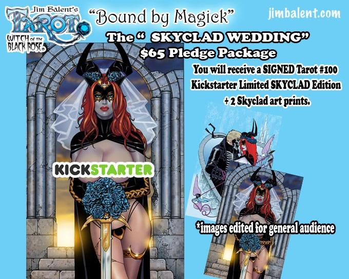 Exclusive Kickstarter Skyclad Edition