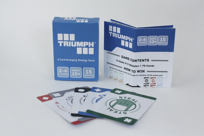A card game that challenges your strategy, memory, and puzzle-solving abilities as you race to match three rows of the same suit.