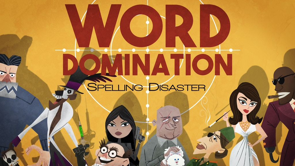 Word Domination - The award-winning area control / word game project video thumbnail