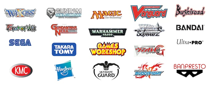 Brands distributed/represented by the team members via VX Global / Animart