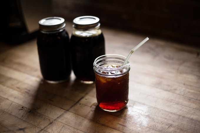 Our cold brew coffee subscription, yours with a $40 pledge [Photo: Alex Jung]