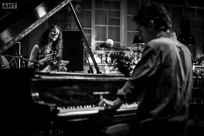 I have been playing with Portuguese singer Sofia Ribeiro for the past 5 years, and one of the rewards is the album + one of her two last albums (which I produced) or a private duo performance
