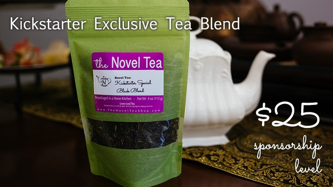 A delicious blended tea, crafted by our certified tea sommelier, is available only to kickstarter backers