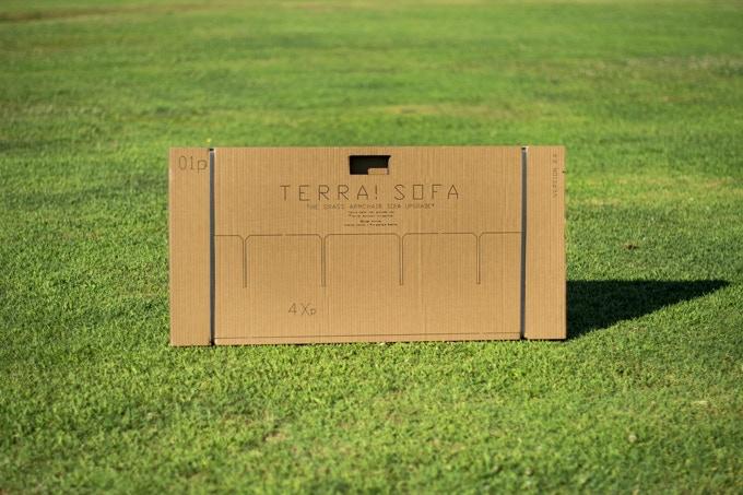 TERRA! UPGRADE (+1 seat) flatpack laser cut cardboard