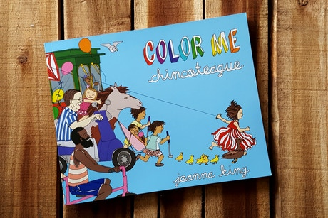 Color Me Chincoteague: A coloring book for an island we love by ...