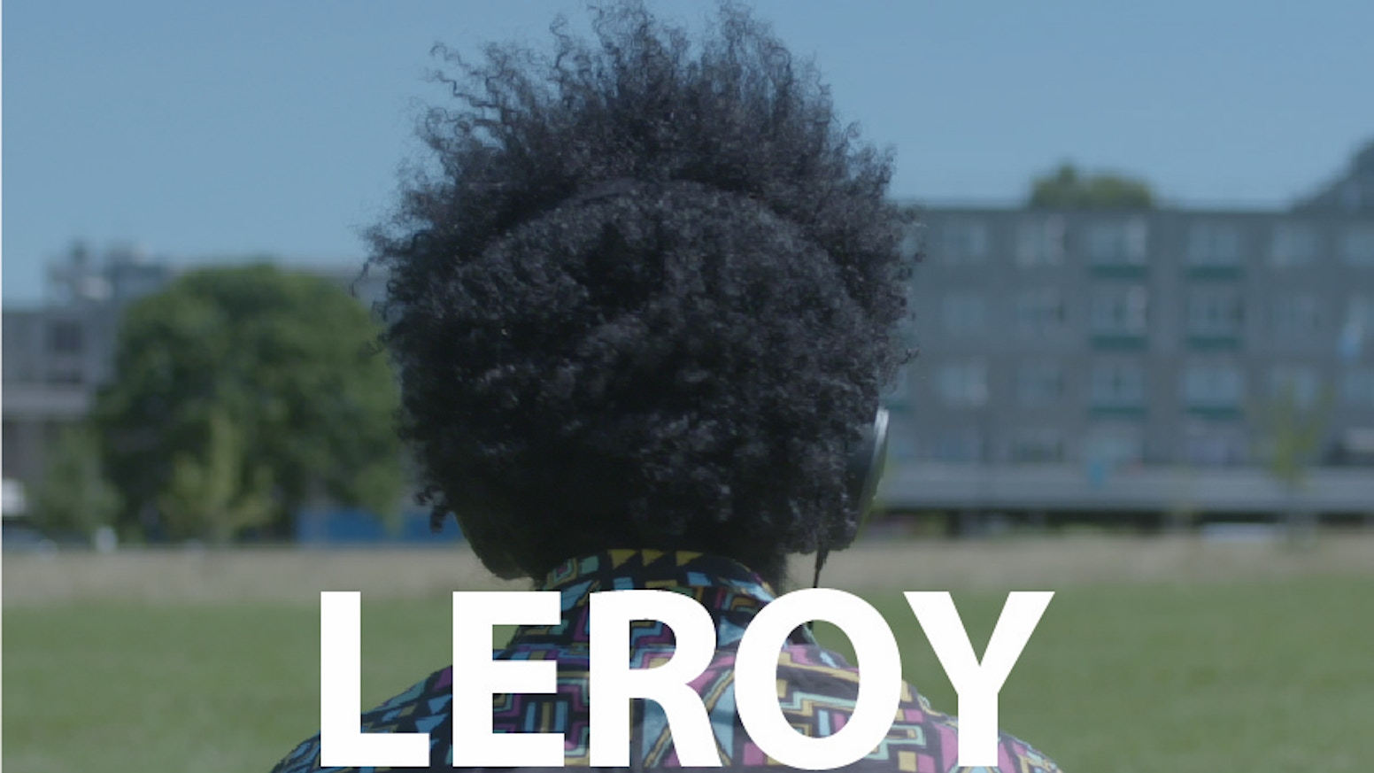LEROY - an oddball comedy set on a North London estate. A coming-of-age story exploring the realities of growing up in a 'man's world'.