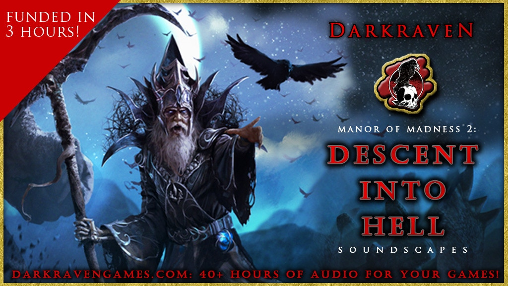 """""""Manor of Madness 2: Descent Into Hell"""" Soundscapes project video thumbnail"""