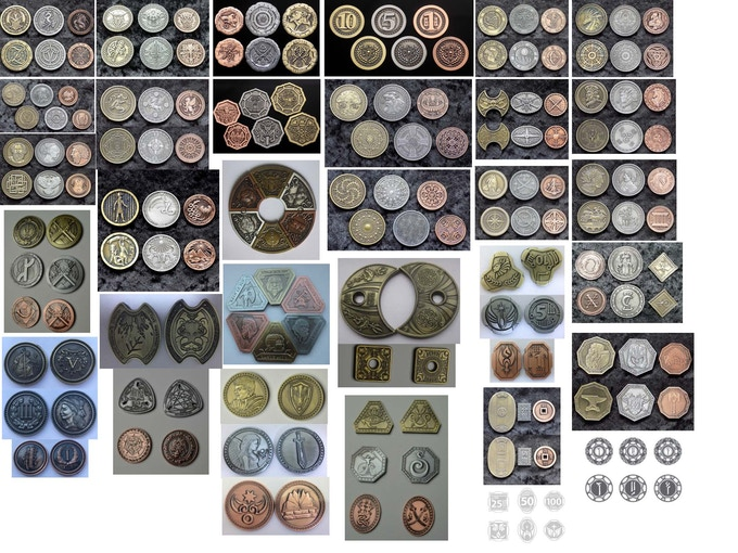 Snapshot of all coin sets