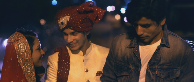 Maryam, Amir & Tahir after the ceremony