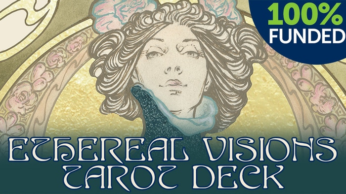 Supporting this project funds the publication of a unique, gold leaf illuminated tarot deck illustrated by Matt Hughes.