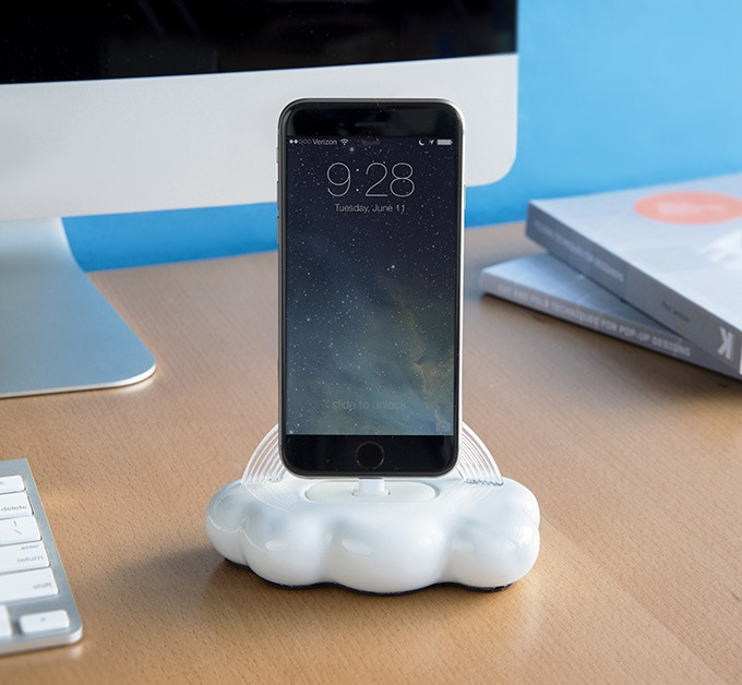 Cloud 9 is great for a desk, nightstand, or counter.