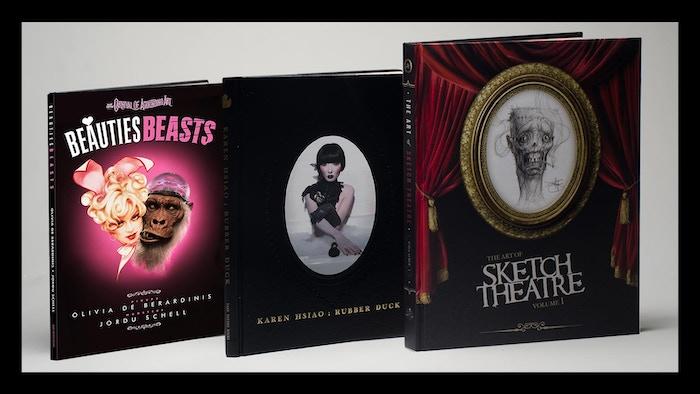 Beautiful/Beastly Art Book Trio