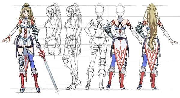 Aria Character Concept Art