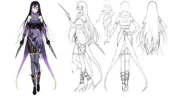 Tatiana Character Concept Art