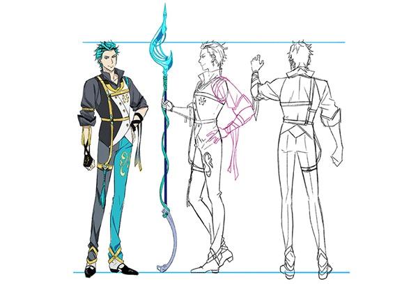 Ed Character Concept Art