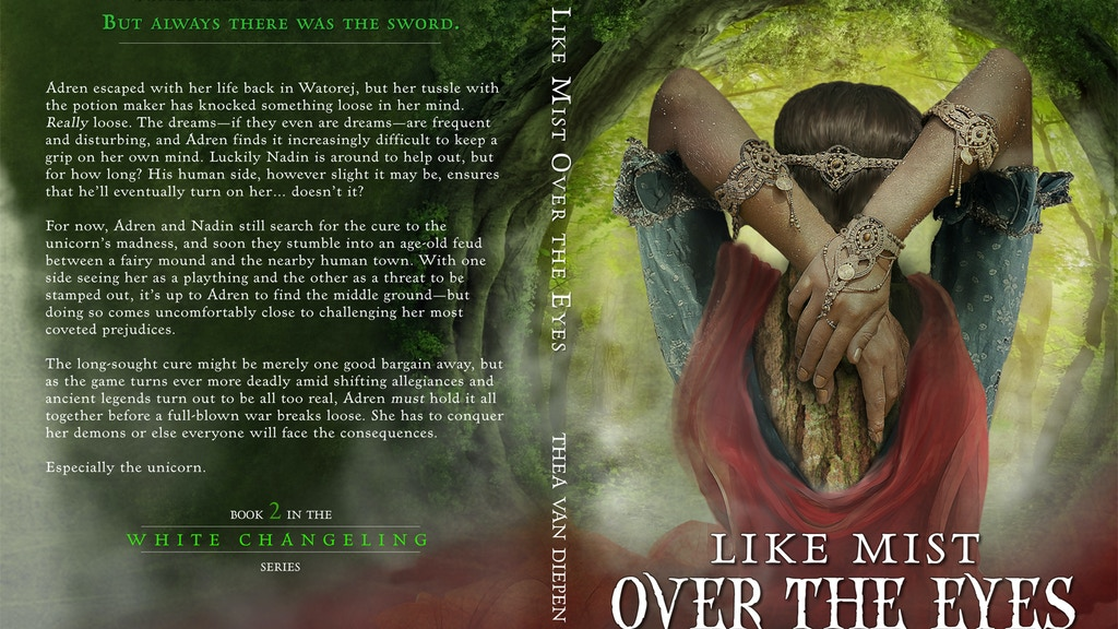 Like Mist Over the Eyes: A Fantasy Novel by Thea van Diepen project video thumbnail